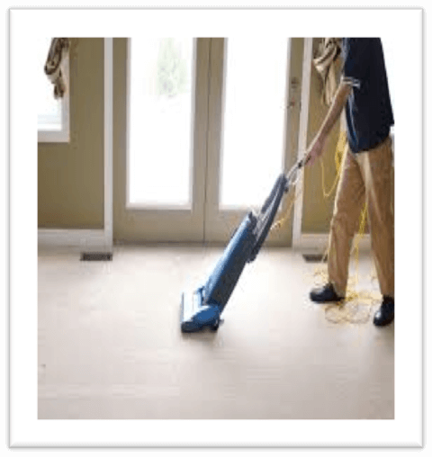 Carpet commercial vacuuming